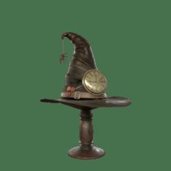 Witch steampunk hat