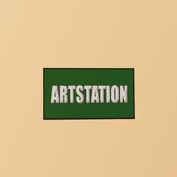 Artstation Button