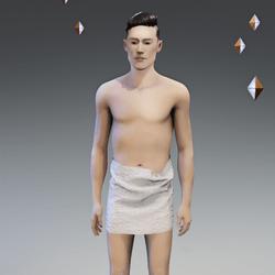 Bathing Towel - Male