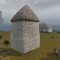 Highland Cottage Kit: Corner Outside