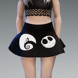 Nightmare Shortie skirt