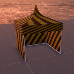Tent/MarketStall/Gazebo (Hazard)