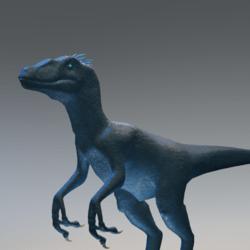 Blue Raptor Avatar