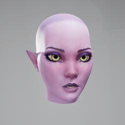 Vinx's Head Neutral (Eyes Yellow)