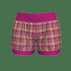Woman Short - Plaid