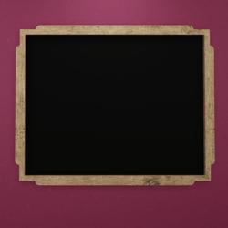 Wood Beech Frame