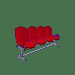 Auditorium Chairs x 4