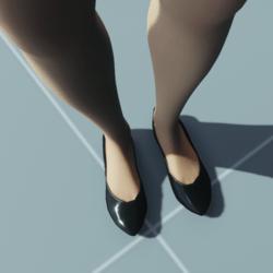 Stylish Classic High Heel Shoes BLACK