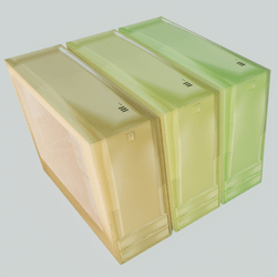 Computer case - yellow colors
