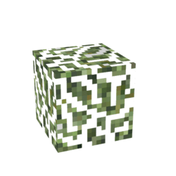 Sancrafter Base Block - Tree Leaves / bush