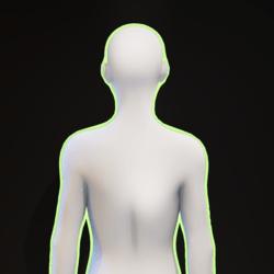 Green Glowing Aura F