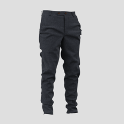 Screw Trousers grey/blue