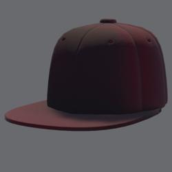 DemiGod Cap Red [FMALE]