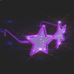 Sunglass Stars & flakes Animated !!