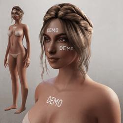 Alina - Avatar - Dark Tan (Demo)