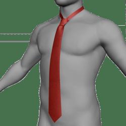 Tie / Cravat red