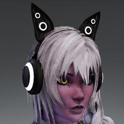 Anubis headphones BLK