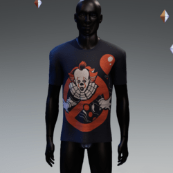 Clownbusters T-Shirt Navy Blue