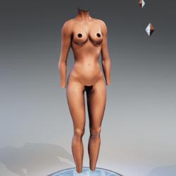 Kismet Body 1A with wet skin by Apocalypse Bunnies
