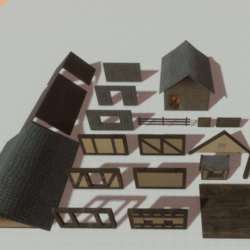 Architecture - Medieval building pack