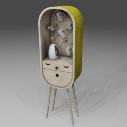 Nice Coffee Cabinet