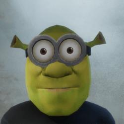 [M] Shrek Minion - Glasses