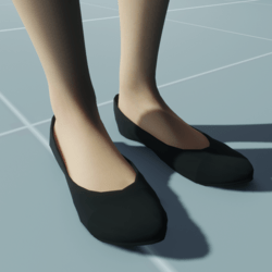 Stylish Classic High Heel Shoes VELVET BLACK