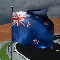 TKA Animate Flag New Zealand
