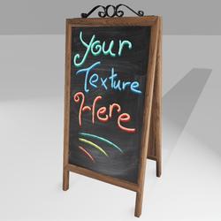 Editable Shop Front Chalkboard