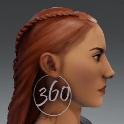 Silver 360 Hoop Earrings