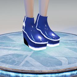 ACpixl Blue Shoes
