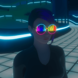 UNISEX_ PARTY_ GLASSES_ EQUALIZER V2 ANIMATED EMISSIVE