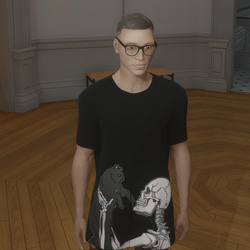 FREE Skeleton's Kitty T-Shirt
