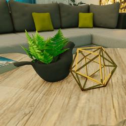Geometric Sphere Decor