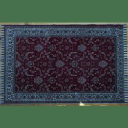 Trampled Blue Persian carpet