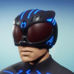 BioArmor Helmet Male Blue Light