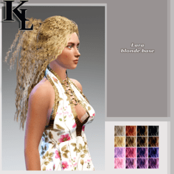 lara -blonde base
