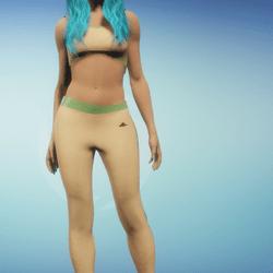 Athletic Fit Pants Beige