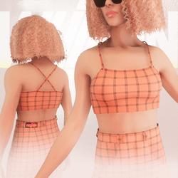 Orange Iconic Top