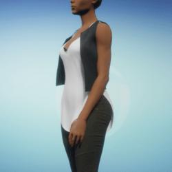 Sleek Leather Vest