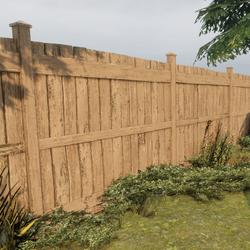Backyard Fence Set   Animated