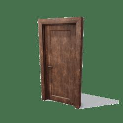 DoorSet B [Grunge wood]