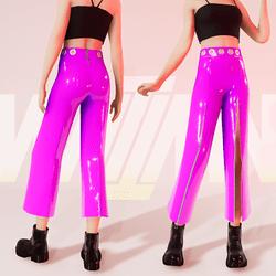 Violet Modern Disco Pants