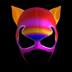 CATWOMAN MASK_ V2  COLORS_ D EMISSIVE_