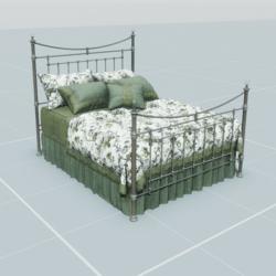 Antique Bed 3.2