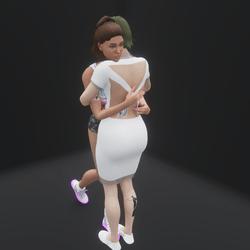 Proper Hug (Looped Animation)