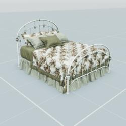 Antique Bed 2.3