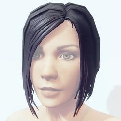 Hair Female - Short Bobcut