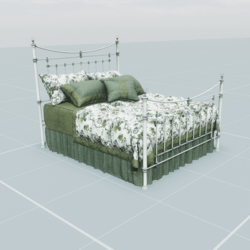 Antique Bed 3.4