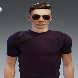 [URBAN FRESH] Mens soft Violet shirt